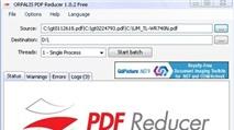ORPALIS PDF Reducer: Nén nhỏ hàng loạt file PDF đến 80%