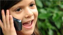 Dưới 15 tuổi không nên dùng điện thoại di động