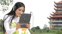 Thái Nhã Vân có bạn thân là... iPad