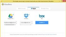 """Kloudless: Tự động lưu file đính kèm Gmail qua """"đám mây"""""""