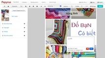Papyrus Editor: Dễ dàng tạo sách điện tử PDF, ePub, Mobi