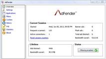 """AdFender 1.75: """"Dũng sĩ"""" diệt quảng cáo"""