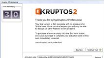 Kruptos 2 Professional 3.0.0.28: Mã hóa, bảo mật an toàn dữ liệu