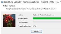 Easy Photo Facebook Uploader: Upload ảnh lên Facebook không cần trình duyệt