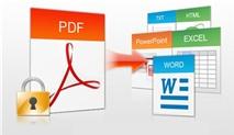 [Tải Ngay Kẻo Lỡ] Nhận bản quyền iSkysoft PDF Converter 4.0.1 miễn phí