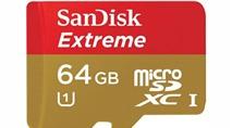 SanDisk MicroSDHC và MicroSDXC UHS-I : Thẻ nhớ nhanh nhất thế giới