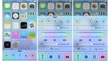 Cùng trải nghiệm iOS 7 Beta: Control Center - bảng điều khiển nhanh