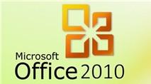 Microsoft Office 2010 Service Pack 2 chính thức trình làng
