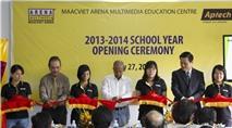 MAACVIET ARENA khai giảng khóa đầu tiên 2013 - 2014