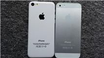Mô hình iPhone 5C và 5S đã xuất hiện tại Việt Nam
