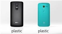 'Đại chiến' giữa 2 siêu phẩm LG G2 và Moto X