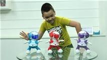 Robot nhảy gây sốt CES 2013 sắp có mặt tại VN