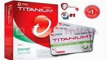 [Tải Ngay Kẻo Lỡ] Miễn phí 6 tháng bản quyền Trend Micro Titanium Internet Security 2013