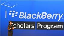Học bổng BlackBerry: Một phụ nữ Việt Nam được chọn