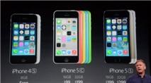 iPhone 5C, 5S chính thức trình làng