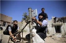 Phiến quân Syria dùng iPad để bắn súng cối