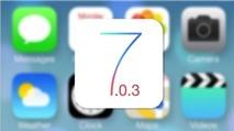 Sẽ có bản cập nhật iOS 7.0.3 trong tuần tới