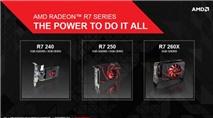 AMD công bố card đồ hoạ R7 series