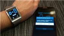 Galaxy Gear: Có thể chạy ứng dụng Android hoàn chỉnh