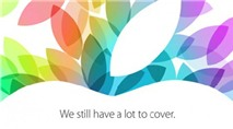 Apple gửi thư mời sự kiện ngày 22/10