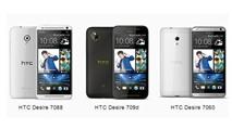 HTC thêm ba smartphone Desire mới