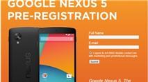 Nexus 5 lộ rõ cấu hình, hình ảnh tại Canada