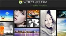 """Web Camera360: """"Tút"""" ảnh chân dung """"trên mây"""""""