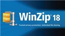 WinZip 18 Pro: Phiên bản mới của trình nén, giải nén file hàng đầu