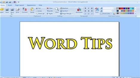 Hai thủ thuật hay trong MS Word