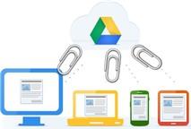 Lưu file đính kèm từ Gmail sang Google Drive