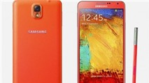 Galaxy Note 3 sẽ có thêm màu đỏ và vàng