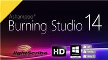 Ashampoo Burning Studio 14: Ghi đĩa bảo mật kiêm sao lưu dữ liệu