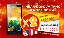 Mừng Giáng sinh, rinh thêm quà tặng khi mua Lenovo P780