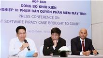 Một doanh nghiệp vừa bị khởi kiện ra tòa do vi phạm bản quyền phần mềm