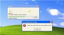 Sửa lỗi Cyclic Redundancy Check trên ổ cứng