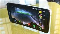 LG G Flex màn hình cong đã lên kệ tại Việt Nam