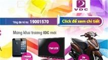 Ngàn quà tặng từ IDC mới của VDC