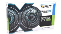Card đồ hoạ tầm trung Palit GeForce GTX 750 Ti StormX Dual