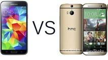 HTC One 2014 vs Galaxy S5, iPhone 5S: Ai hơn ai?