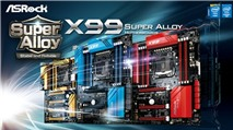 ASRock ra mắt các bo mạch chủ chipset X99 Super Alloy