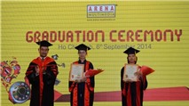 Arena Multimedia trao bằng tốt nghiệp cho 250 học viên