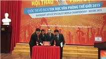 Cuộc thi Vô địch Tin học Văn phòng Thế giới 2015