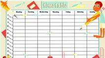 Timetable: Quản lý thời khóa biểu trực quan