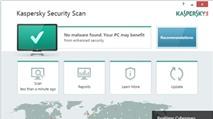 Quét virus miễn phí với Kaspersky Security Scan