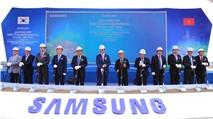 Samsung xây dựng dự án Phức hợp Điện tử gia dụng tại TP.HCM