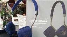 Audio Technica sử dụng chất liệu vải Louis Vuitton cho tai nghe