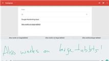 Google Handwriting Input: Nhập liệu tiếng Việt bằng cách viết tay