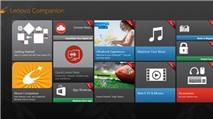 Phát hành phiên bản mới Lenovo Companion và Lenovo Settings