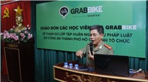 GrabTaxi tập huấn nghiệp vụ pháp luật cho tài xế và nhân viên