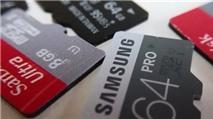 Lưu ý các thông số khi mua thẻ nhớ